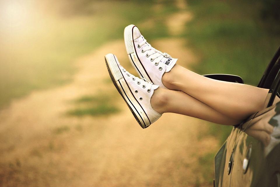 リラックス、脚