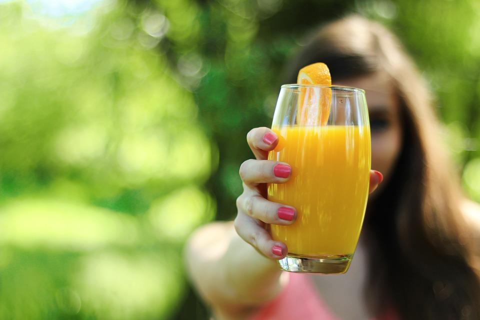 オレンジジュース、ビタミンC